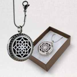 Chrystal Lotus Locket