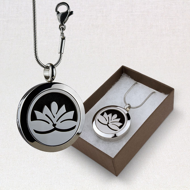 Classic Lotus Locket