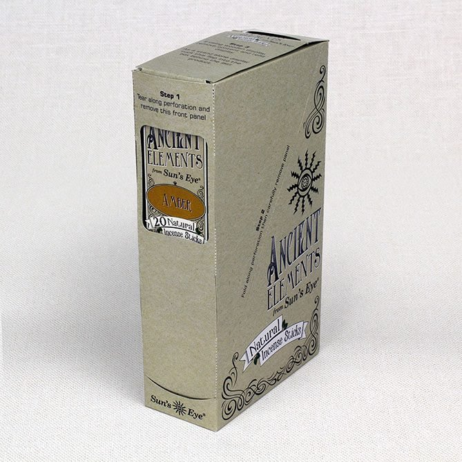 Amber Incense 6-pack