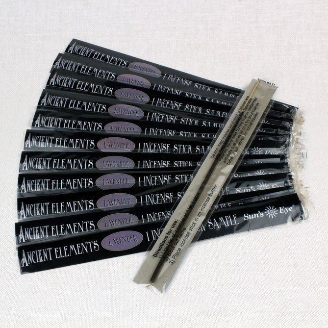 Lavender Incense Samples