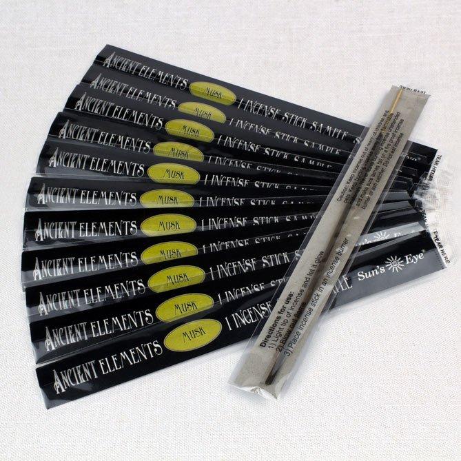 Musk Incense Samples