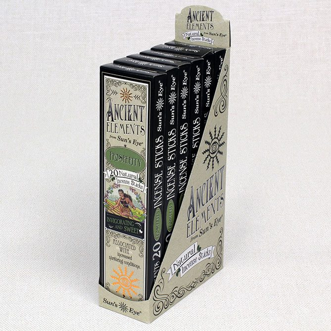Prosperity Incense 6-Pack