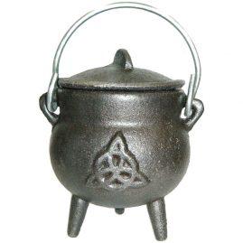 Triquetra Iron Cauldron
